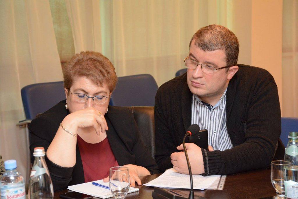 Встреча Совета национальных меньшинств при Аппарате Народного Защитника Грузии с главой Министерства по исполнению наказаний, пробации и юридической помощи Грузии