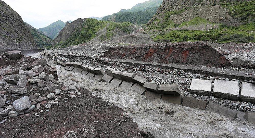 Природа диктует условия на границе Грузии и РФ