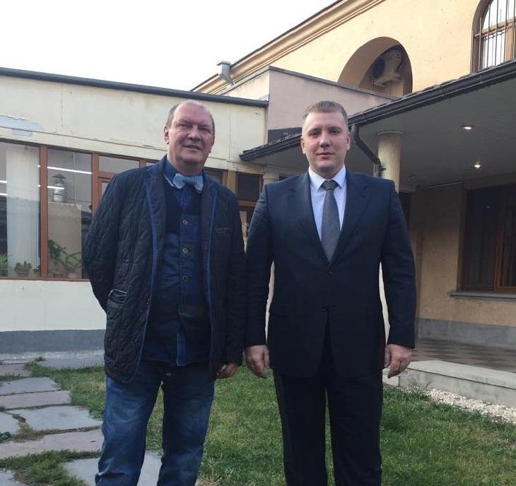 Рабочая встреча в Ереване