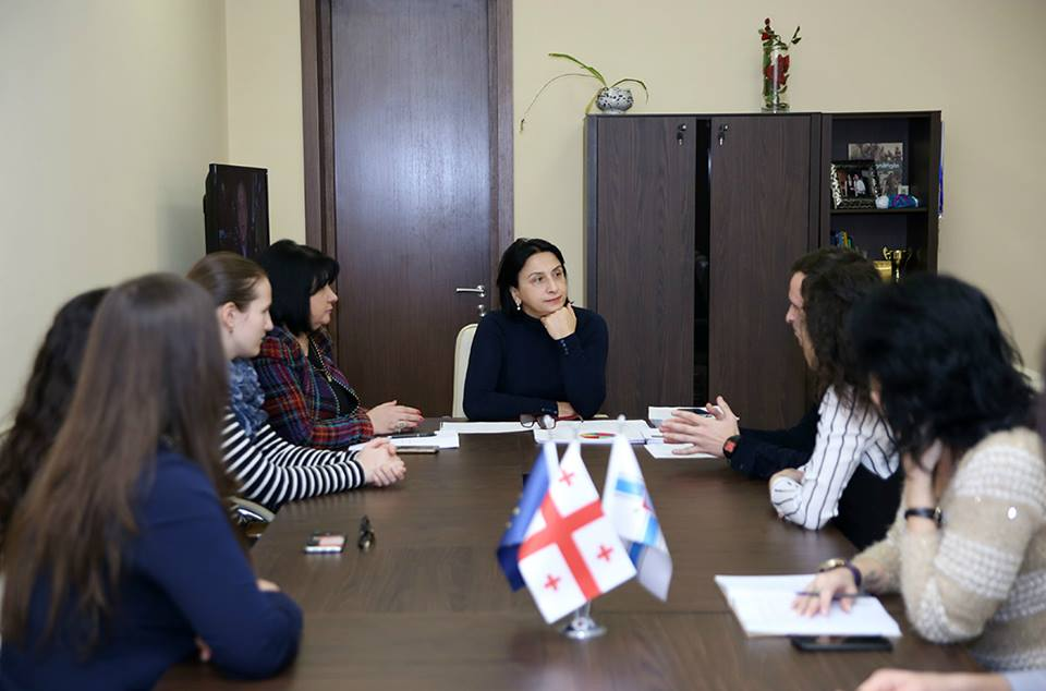 Молодые представители диаспор пройдут стажировку в городском собрании (Сакребуло) города Тбилиси