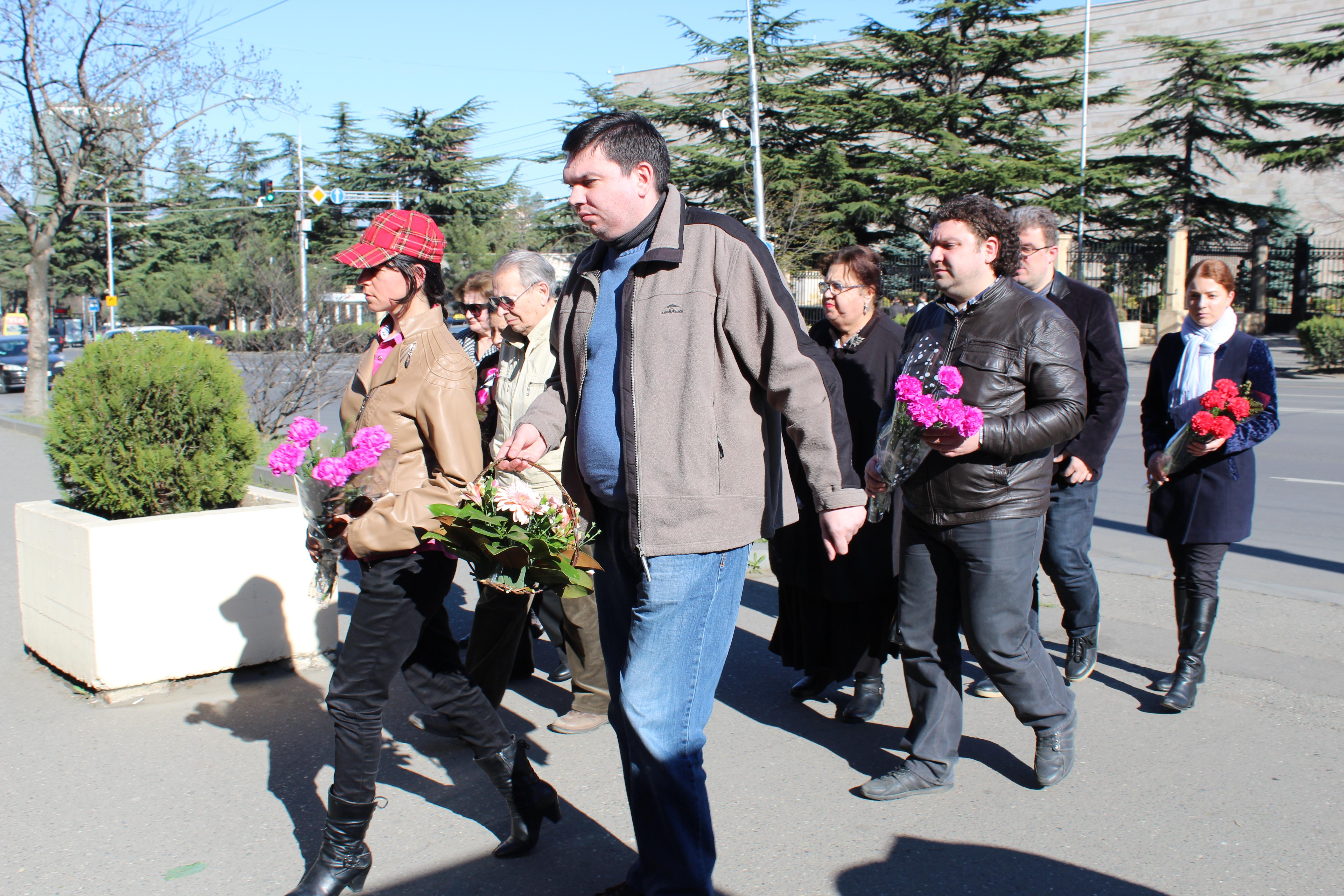 КСОРСГ почтил память погибших в петербургском метро