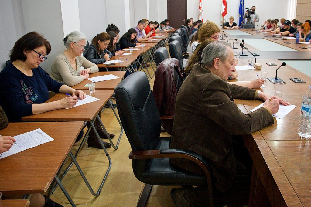 Тотальный диктант – 2017 в Тбилиси