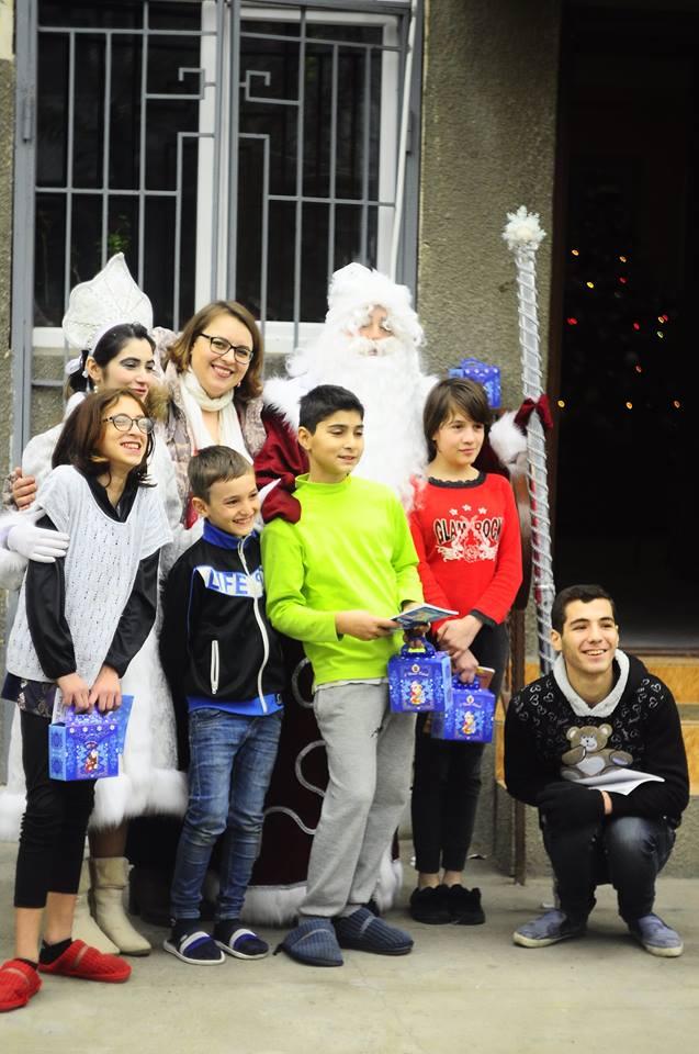 В канун Старого Нового года в Рустави