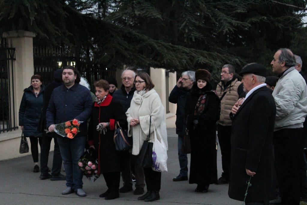 Акция памяти жертв авиакатастрофы Ан-148