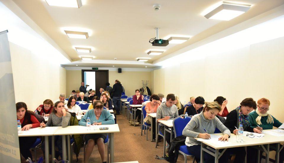 Благодарственные письма организаторам «Географического диктанта» в Тбилиси