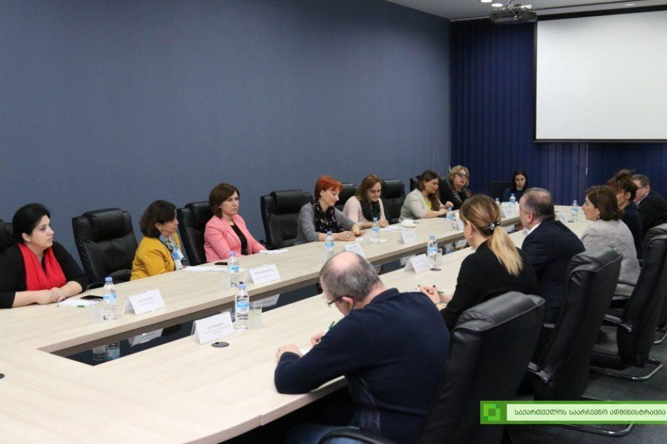 Встреча постоянной рабочей группы по вопросам этнических меньшинств в ЦИК Грузии
