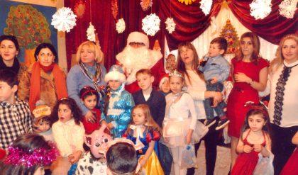 Новогодний праздник в Сенаки