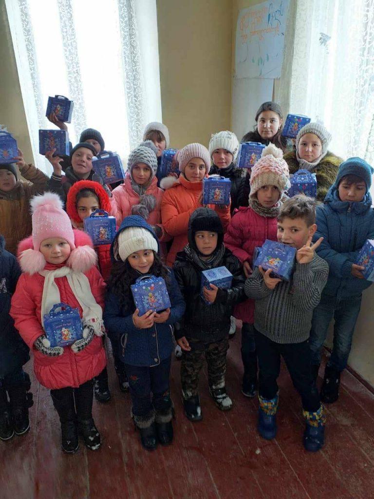 Новогодняя акция в селе Гореловка!