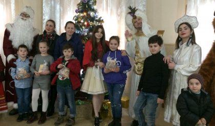 Новогодний квест в Рустави