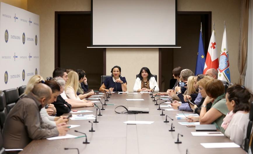 В Сакребуло (Городское собрание) Тбилиси прошло заседание Координационного совета национальных меньшинств.