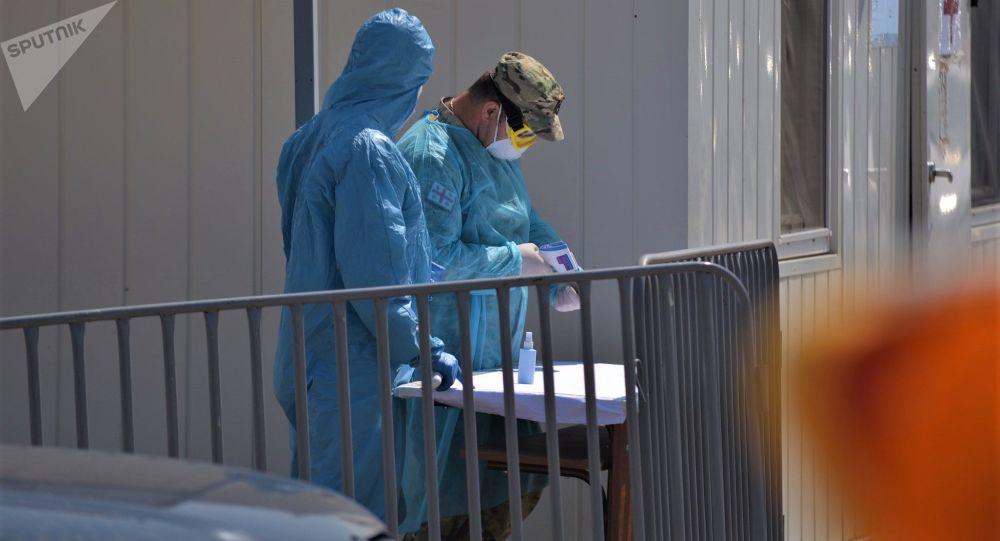 Случаи внутренней передачи коронавируса в Грузии растут