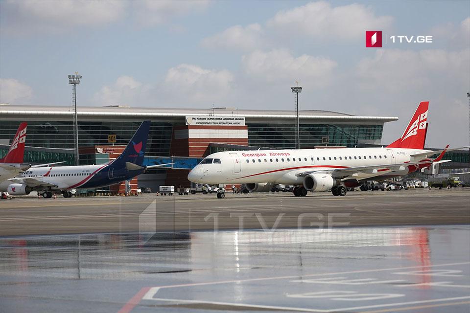 Ограничение на международные авиарейсы в Грузии продлено до 31 августа включительно, исключение составляют Мюнхен, Париж и Рига