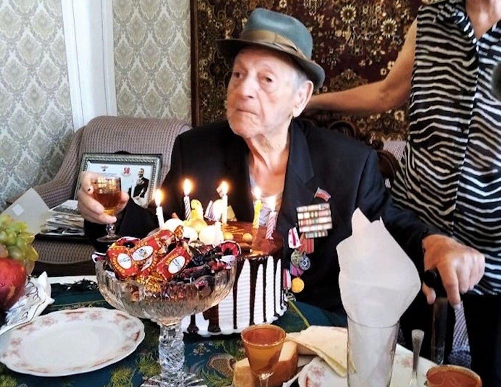 Старейшему ветерану Грузии исполнилось 106 лет