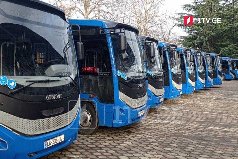 С 13 сентября движение общественного транспорта будет восстановлено