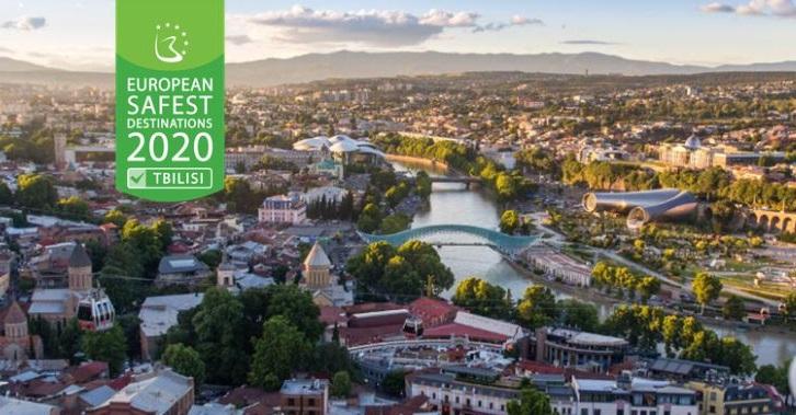 Тбилиси занял первое место в рейтинге самых безопасных туристических направлений в Европе