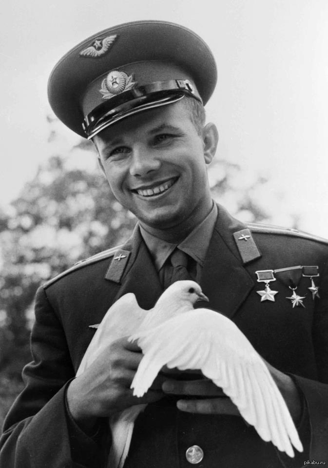60 лет назад, 12 апреля 1961 года, Юрий Гагарин совершил первый в истории полет в космос