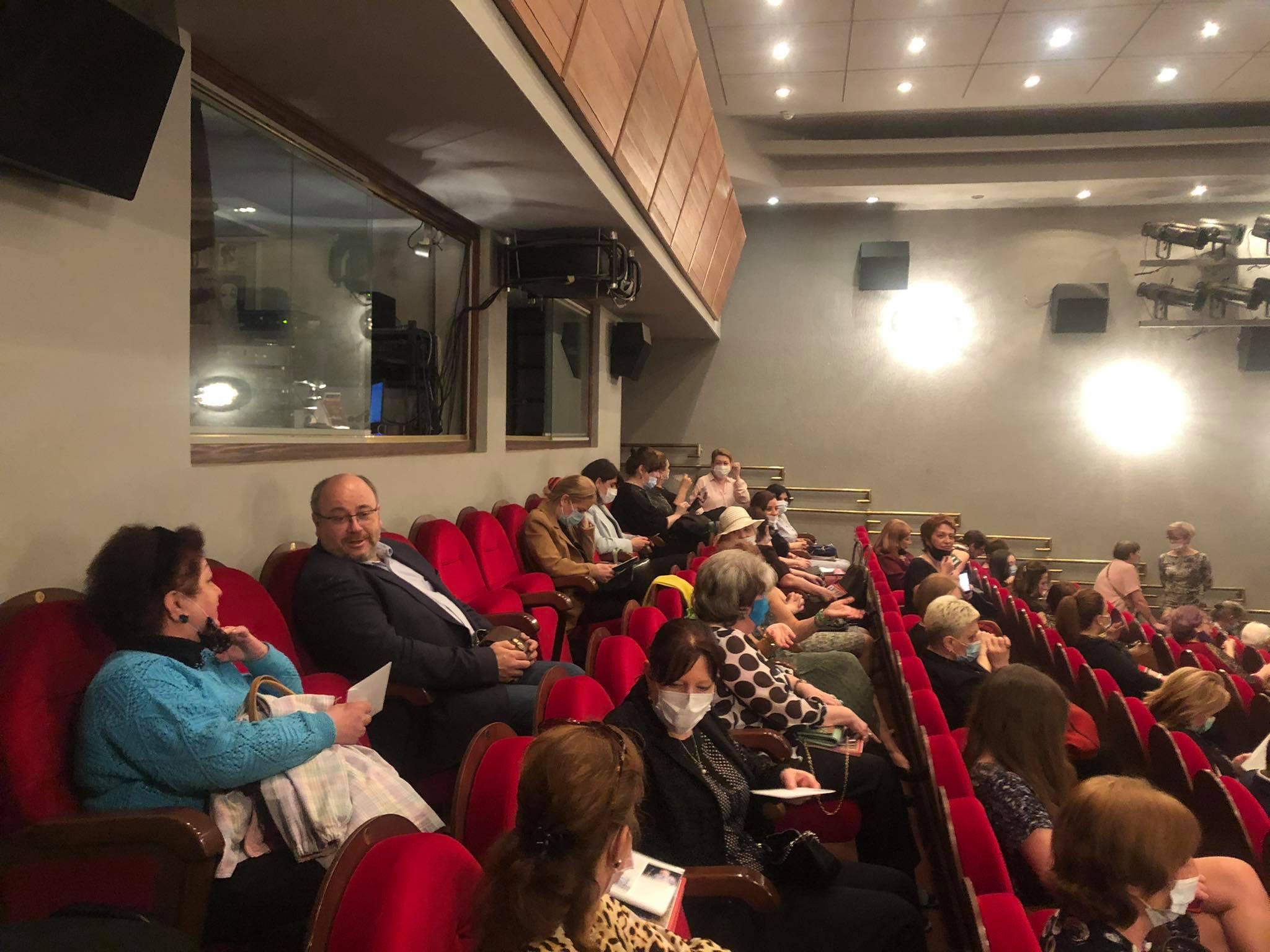 Специальный показ спектакля «Я — Николай Гумилев!»