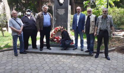 В Тбилиси возложили цветы к бюсту генерала К. Леселидзе