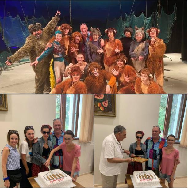 Спектакль «Маугли» в Озургети